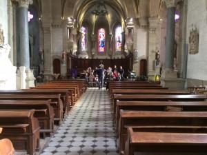 répétition concert église 3